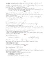 Tổng hợp một số đề kiểm tra toán 8 - giúp HS ôn tập cuối năm tốt hơn