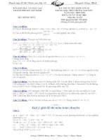 Đề + đáp án TS 10 chuyên toán TP.HCM