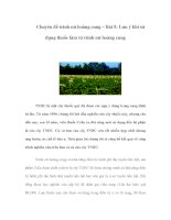 Chuyên đề trinh nữ hoàng cung – Bài 5: Lưu ý khi sử dụng thuốc làm từ trinh nữ hoàng cung potx