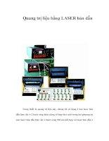 Quang trị liệu bằng LASER bán dẫn pps