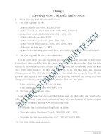 Chương 3: Lập trình phay - hệ điều khiển Fanuc ppt