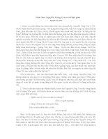Nhà Nho Nguyễn Công Trứ với Phật giáo