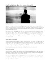 8 nỗi sợ hãi của đàn ông trong tình yêu!
