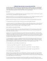 5 điều thí sinh cần lưu ý trong tuyển sinh 2010