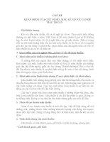 CHỦ ĐỀ QUAN ĐIỂM CỦA CHỦ NGHĨA MÁC-LÊ NIN VỀ VẤN ĐỀ MÂU THUẪN pdf