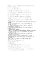 70 câu trắc nghiệm Mác - Lênin HP1 - có đáp án ppt