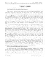 SÁNG KIẾN KINH NGHIỆM DẠY HỌC TIẾNG ANH 9