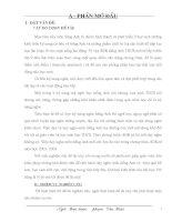 SÁNG KIẾN KINH NGHIỆM DẠY VÀ HỌC TIẾNG ANH LỚP 8 - 9