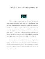 Nội độc tố trong viêm đường mật do sỏi pdf