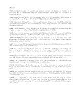 Bài tập dành cho học sinh khá-giỏi (đề số 1)