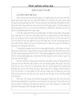 SÁNG KIẾN KINH NGHIỆM PHƯƠNG PHÁP DẠY NGHE TIẾNG ANH LỚP 8 VÀ LỚP 9