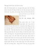 Massage chân tốt cho sức khoẻ của bạn potx