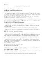Chương 2: Phương pháp chứng từ kế toán pptx