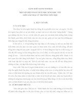 SÁNG KIẾN KINH NGHIỆM_ MỘT SỐ BIỆN PHÁP GIÚP HỌC SINH HỌC TỐT  MÔN ÂM NHẠC Ở  TRƯỜNG TIỂU HỌC