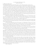 Cách viết đoạn văn - Ôn thi vào lớp 10