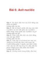 Bài 6: Axit nuclêic ppsx
