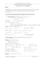 Phương trình và bất phương trình có chứa mũ và logarit
