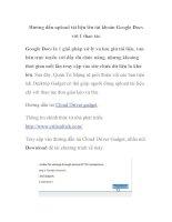 Hướng dẫn upload tài liệu lên tài khoản Google Docs với 1 thao tác pptx