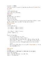 Lập trình C- Bài tập 10 pot