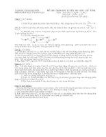 HSG huyện Kinh Môn 09-10