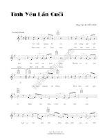 Bài hát tình yêu lần cuối - Đức Huy (lời bài hát có nốt) doc