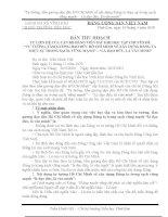 Bài thu hoạch về Học tạp và làm theo Tư tưởng đạo đức Hồ Chí Minh