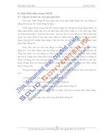 Chương 3: Các thiết bị động lực trong nhà máy thủy điện - Phần 2 pdf