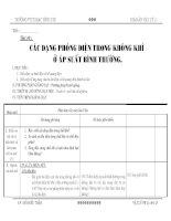 giáo án vật lý 11 - các dạng phóng điện trong không khí ở áp suất bình thường, bài 2 pptx