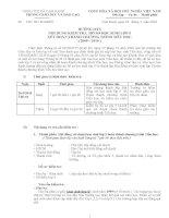 Công văn Hướng dẫn kiểm tra chéo hồ sơ lớp 5