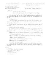 Công văn 2603/BGDĐT-CNTT quy định các loại máy tính được mang vào phòng thi
