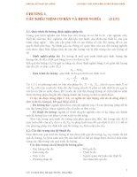 CHƯƠNG 1. CÁC KHÁI NIỆM CƠ BẢN VÀ ĐỊNH NGHĨA (2 LT) pdf
