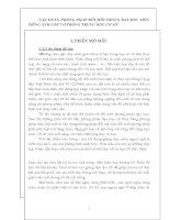 SÁNG KIẾN KINH NGHIỆM VẬN DỤNG PHƯƠNG PHÁP ĐỔI MỚI TRONG DẠY ĐỌC MÔN TIẾNG ANH LỚP 7 Ở TRƯỜNG TRUNG HỌC CƠ SỞ