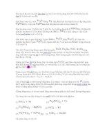 Bài tập ôn thi đại học môn Hóa - Cr - Fe - Cu pdf