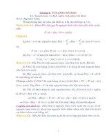 Chương 4. Tích phân bất định pdf