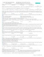 Đề kiểm tra tham khảo môn Vật lý 12 pps