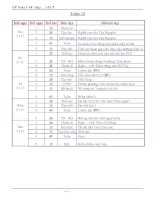 Giáo án lớp 3 tuần 13- 18