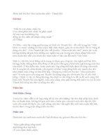 Ôn thi vào lớp 10_CĐ2: Phân tích bài thơ Mùa xuân nho nhỏ