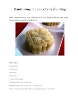 Bánh trung thu rau câu vị sầu riêng pptx