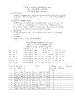 Báo cáo thí nghiệm phân tích cảm quan - 5 docx