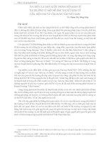 VAI TRÒ CỦA NHÀ NƯỚC TRONG NỀN KINH TẾ THỊ TRƯỜNG TỪ MỘT SỐ HỌC THUYẾT KINH TẾ CẬN, HIỆN ĐẠI VÀ VẬN DỤNG VÀO VIỆT NAM pps