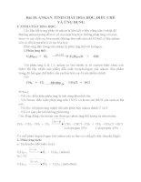Bài 35: Ankan, tính chất hóa học điều chế và ứng dụng docx