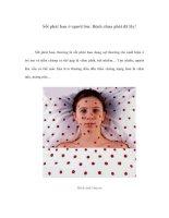 Sốt phát ban ở người lớn: Bệnh chưa phát đã lây! Sốt phát ban, thường là pot