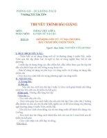 THUYẾT TRÌNH BÀI GIẢNG TIẾNG VIỆT LỚP 3_BÀI 13 pps