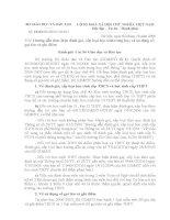 Hướng dẫn thông tư 40 xếp loại THCS