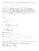 cách xác định số hạng tổng quát của dãy số