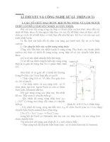 Chương II: LÍ THUYẾT VÀ CÔNG NGHỆ XỬ LÍ THÉP (Phần 1) pps