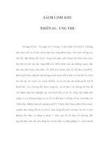 SÁCH LINH KHU - THIÊN 81: UNG THƯ ppsx