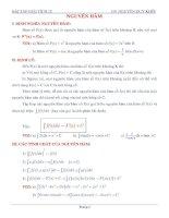 Bài tập giải tích lớp 12 (GV Nguyễn Duy Khôi)