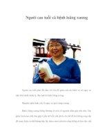 Người cao tuổi và bệnh loãng xương pdf
