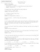 đè thi thử HSG toán 4 Hàm Nghi